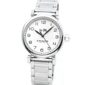 NWT Coach Casual Watch Madison Silver for womens